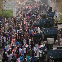 العراق: المتظاهرون يحرقون المزيد من المباني الحكومية