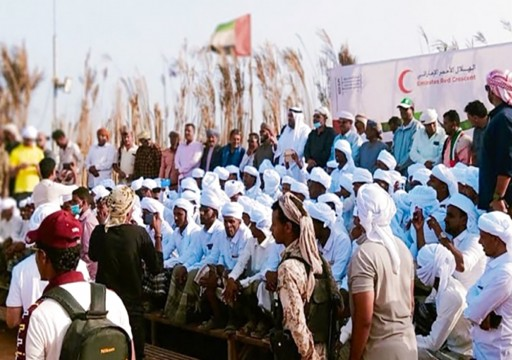 """وثائق تكشف عن أنشطة مشبوهة لـ""""الهلال الأحمر الإماراتي"""" باليمن تحت لافتة العمل الإنساني"""