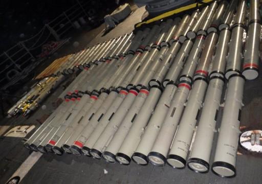 بومبيو يعلن مصادرة 358 صاروخا إيرانيا في طريقها للحوثيين
