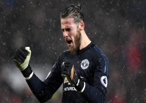 مانشستر يونايتد يجدد لحارسه الإسباني دي خيا
