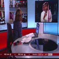 مذيعة بي بي سي تطرد خبيرا عسكريا سعوديا على الهواء