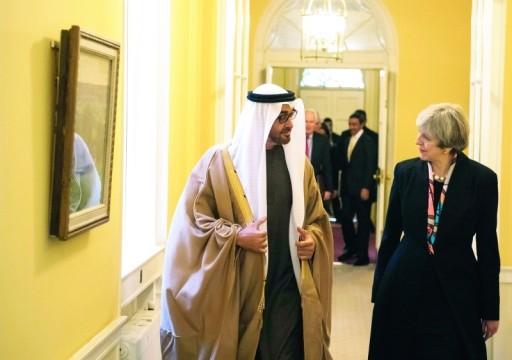 ماي: بريطانيا أثارت قضية سجن أكاديمي في الإمارات لأعلى المستويات