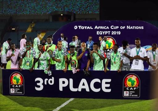 نيجيريا تهزم تونس وتنتزع البرونزية القارية