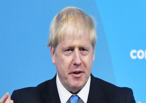 محمد بن زايد يبحث ورئيس وزراء بريطانيا تعزيز التعاون