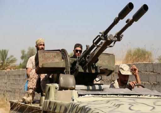 الوفاق الليبية: مقتل 20 من مليشيات حفتر خلال ضربة جوية