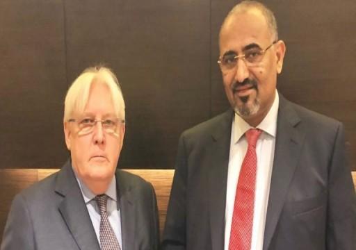 الزبيدي المقرب من الإمارات يلوح باستخدام القوة ضد الشرعية في اليمن