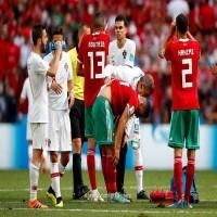 المغرب يودع المونديال  بعد الخسارة أمام البرتغال
