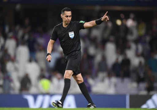 فيفا يعين الحكم ماريوف لإدارة مباراة العين وريال مدريد في نهائي كأس الأندية