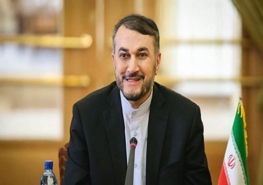 وزير خارجية إيران: محادثات جديدة مع السعودية تمضي في مسار جيد
