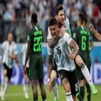 الأرجنتين في دور الستة عشر لكأس العالم ووداع حزين لنيجيريا من المونديال