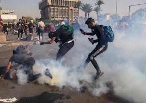 منظمة حقوقية توثق 171 حالة اغتيال واختطاف خلال احتجاجات العراق
