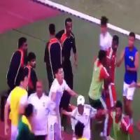 اتحاد الكرة يوقف الحراصي بعد أحداث مباراة ماليزيا