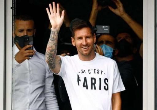 وسائل إعلام فرنسية: ميسي في طريقه لباريس لتوقيع عقد مع باريس سان جيرمان