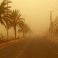 الإرصاد يؤكد استمرار التحذيرات من تدني الرؤية بسبب الغبار