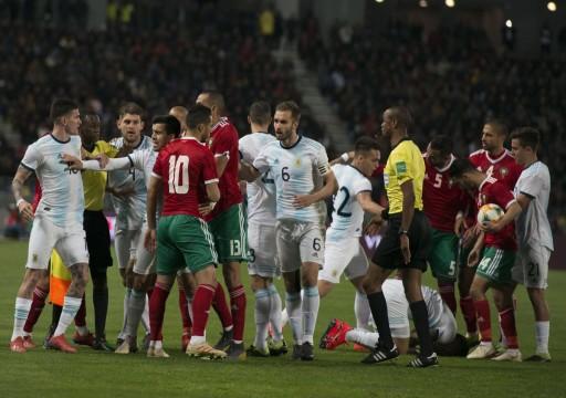 الأرجنتين تخطف فوزًا صعبًا من المغرب وديًا