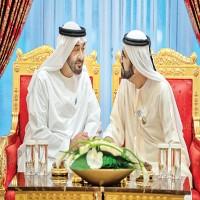 محمد بن راشد يستقبل محمد بن زايد في دبي