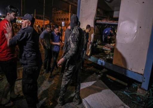 حماس تتهم مخابرات السلطة بتنفيذ تفجيري غزة