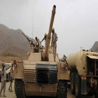الحوثيون يعلنون تدمير دبابة سعودية ومقتل طاقمها جنوبي المملكة