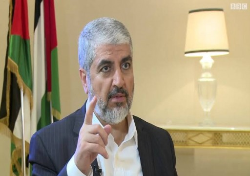 مواقف الدول العربية «غير مشرِّفة».. خالد مشعل: الفلسطينيون سيُفشلون خطة ترامب للسلام