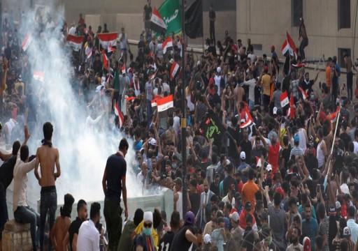 ارتفاع قتلى احتجاجات بغداد والبصرة الى 8 خلال 24 ساعة