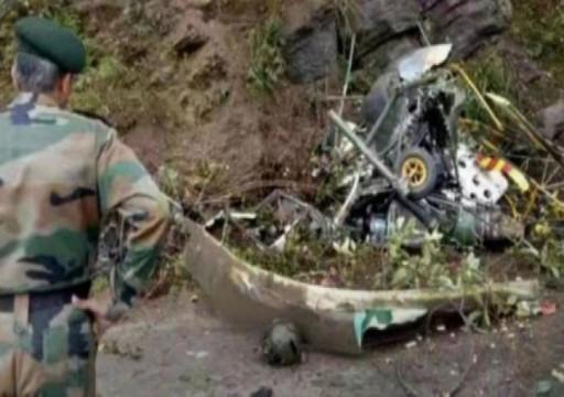 """مصرع طيارين إثر تحطم مروحية عسكرية هندية بـ""""جامو وكشمير"""""""