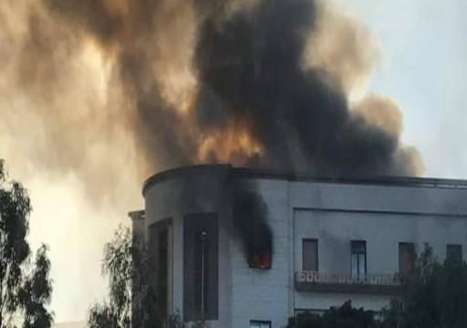 3 قتلى وخمسة جرحى بهجوم انتحاري على مبنى الخارجية الليبية
