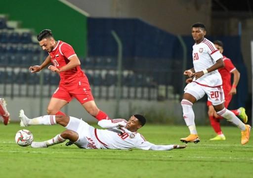 المنتخب الأولمبي يفوز على نظيره السوري بهدفين مقابل هدف