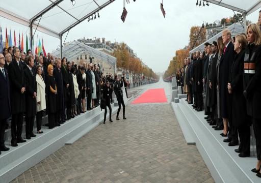 70 زعيماً عالمياً يحتفلون بمئوية نهاية الحرب العالمية الأولى