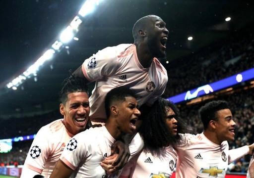 أبطال أوروبا: يونايتد يقضي على أحلام باريس وروما يسقط أمام بورتو