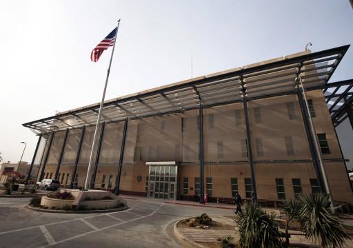 قصف صاروخي للسفارة الأمريكية ببغداد عقب زيارة ترامب