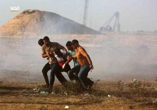 إصابة 40 فلسطينياً برصاص الاحتلال الإسرائيلي شرقي القطاع