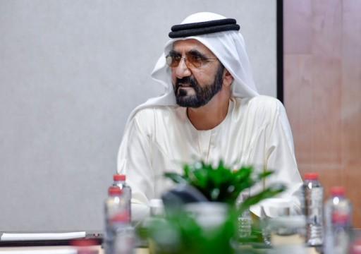 مرسوم بتعيين منصور بن محمد رئيساً لمجلس دبي الرياضي