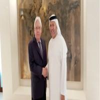 قرقاش يبحث مع غريفيث في أبوظبي جهود تطورات الأوضاع في اليمن