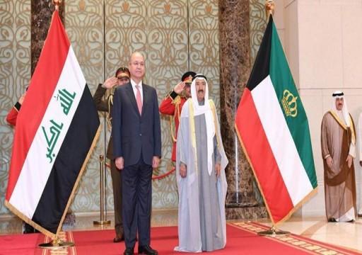 اتفاق عراقي كويتي للسيطرة على الحدود البرية وتبادل المعلومات