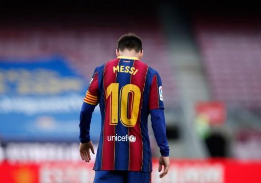 الخلافات تشتعل داخل برشلونة بسبب رحيل ميسي
