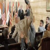 صحفي عراقي رشق بوش بالحذاء يرشح نفسه للبرلمان