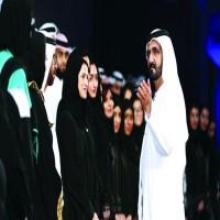 محمد بن راشد: الإماراتية أخت وشريكة وعضيدة في مسيرة التنمية