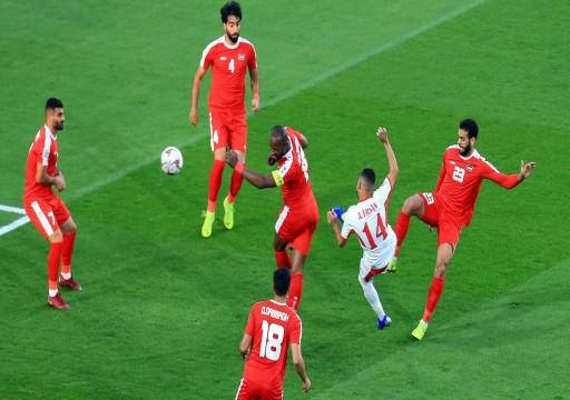 كأس آسيا 19: فلسطين تبقى على آمالها الأسيوية بالتعادل مع الأردن