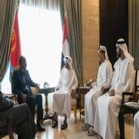محمد بن زايد يستقبل رئيس إريتريا