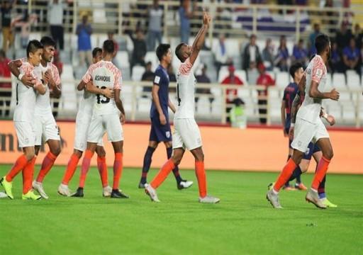 المنتخب الهندي يقسو على نظيره التايلاندي برباعية في كأس آسيا