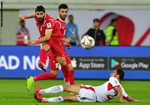 إقالة مدرب المنتخب السوري بعد الخسارة أمام الأردن في كأس آسيا19