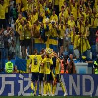 السويد تهزم كوريا الجنوبية بمساعدة حكم الفيديو