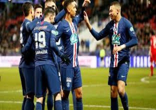 باريس سان جيرمان يسحق ديجون 6-1 ويصعد لقبل نهائي كأس فرنسا