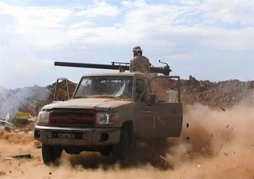 مقتل 19 حوثيا في اشتباكات مع الجيش اليمني قرب الحدود السعودية