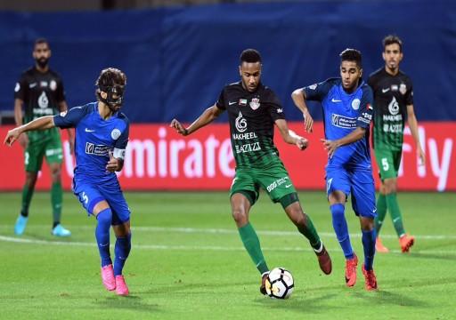 الأهلي يختبر قدراته أمام النصر في دوري الخليج