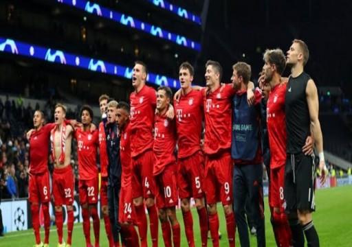 بايرن ميونيخ يهزم توتنهام.. وأتلتيكو مدريد يعتلي قمة مجموعته بأبطال أوروبا
