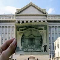 77 مليار دولار عجز الميزانية الأمريكية في يوليو الماضي