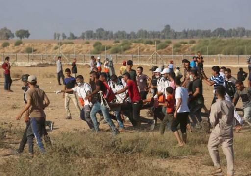 شهيد وجرحى في مسيرة العودة بغزة.. وهدم منزل البرغوثي في الضفة
