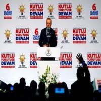 أردوغان يتوعد التنظيمات الإرهابية بعمليات جديدة في سوريا