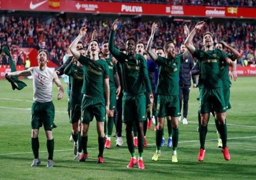 بيلباو يتجاوز غرناطة بقاعدة الأهداف خارج الملعب ويبلغ نهائي كأس إسبانيا